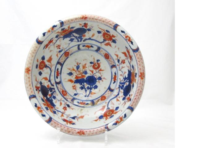 An Imari wash bowl 18th century