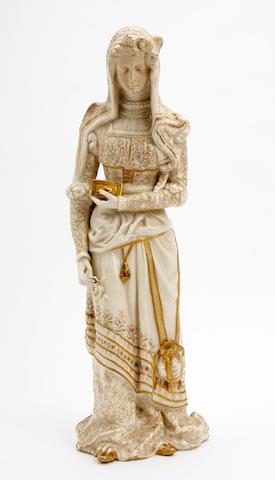 A Doulton Burslem double sided figure of 'Mephistopheles and Marguerite'