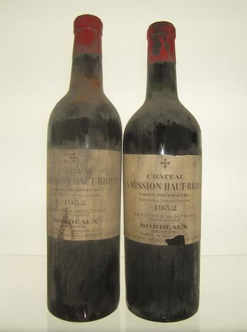 Chateau La Mission Haut-Brion 1952, BE (6)