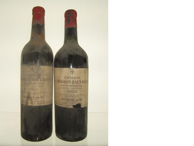 Chateau La Mission Haut-Brion 1952, BE (12)