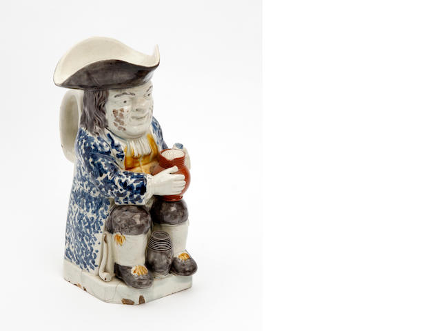 A Staffordshire Ordinary-type Toby jug Circa 1800