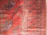 An Afghan carpet, 381cm x 280cm