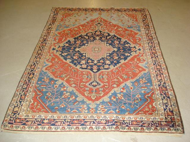 A Sarouk rug, West Persia, 189cm x 126cm