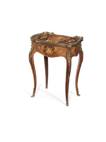 Ladies French inlaid writing desk/dressing?