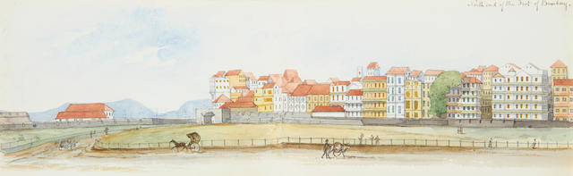 Major General Frederick Stafford Hewett (British, 1826-1880) Views in Bombay, Colaba and Madras between 1869-1870