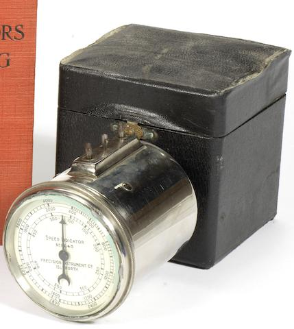 A Precision Instrument Co 'speed indicator', British,