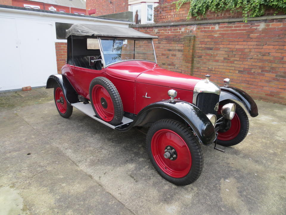 1925 A.C.Royal 11.9hp Two-seater and dickey  Chassis no. 21851 Engine no. 4740