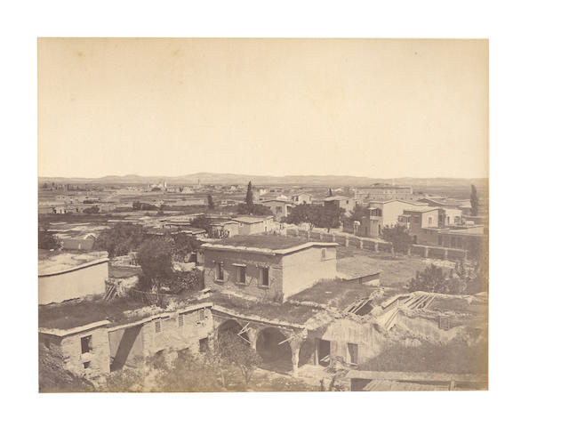 ISTANBUL, ANATOLIA and CYPRUS A good album comprising approximately 47 images, [c.1885]
