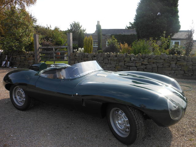 1962 Jaguar D Type Replica