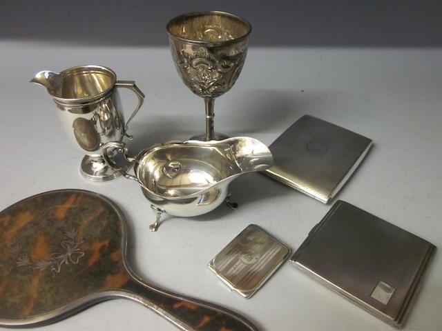 A Victorian goblet, Birmingham 1873,