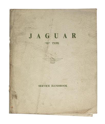 A Jaguar D-Type service handbook,