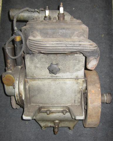 A Swift-Radford two cylinder engine,