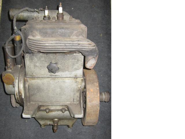 A Swift-Radford two cylinder engine,