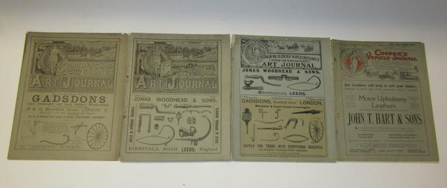 Thirty-five assorted issues of 'The Coopers Vehicle Journal',