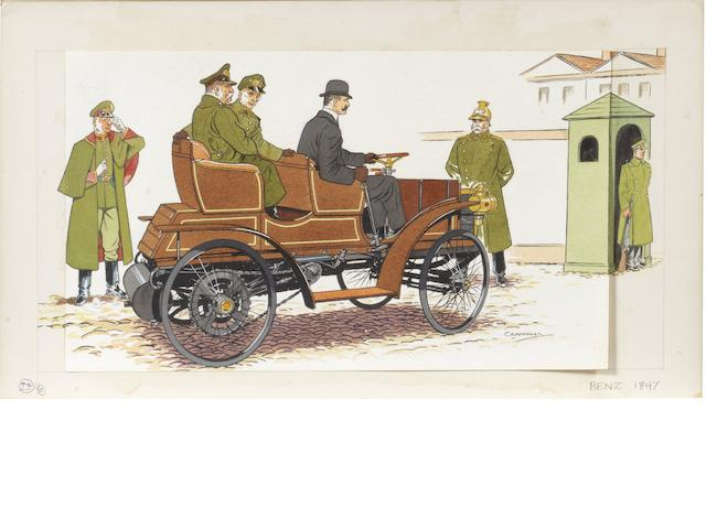 Harold Connolly (1893-1973), 'Benz 1897',