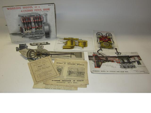Assorted 'Car Illustrated' working models, ,