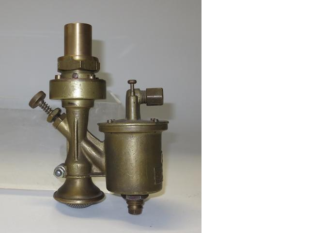 A Cudell for De Dion Bouton bronze carburettor, German, circa 1900,