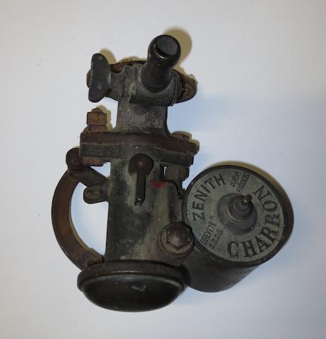 A Zenith Charron bronze carburettor,