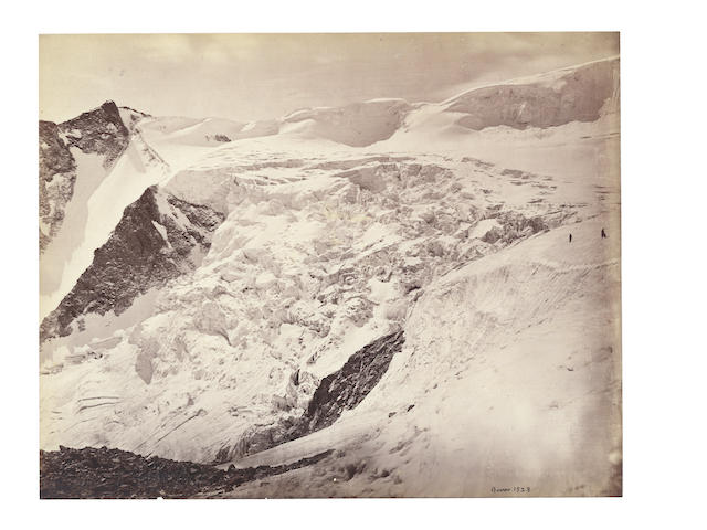 HIMALAYAS BOURNE (SAMUEL) A pair of views of Himalayas, c.1865 (2)