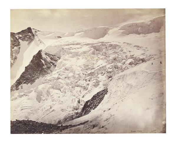 HIMALAYAS BOURNE (SAMUEL) A pair of views of Himalayas, c.1865 (2)