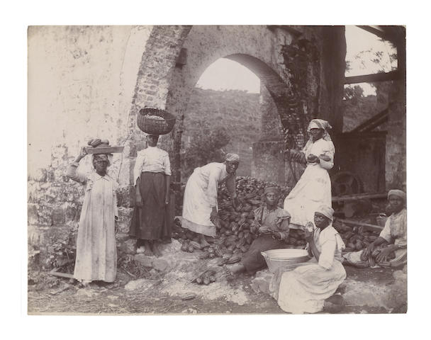 JAMAICA The important collection of upwards of 170 images as well as photographic and photo-derived postcards, including the work of Adolphe Duperly and his successors