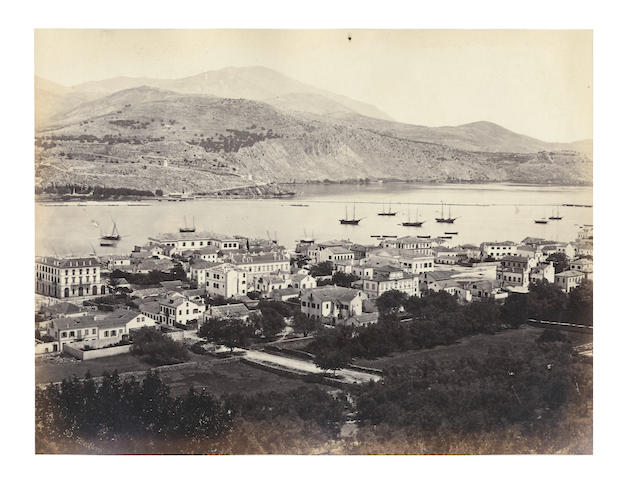 ITALY and GREECE An album of 130 topographical and architectural views, predominantly in Italy, with a good view of Cephalonia by Francis Bedford, 1875 and later