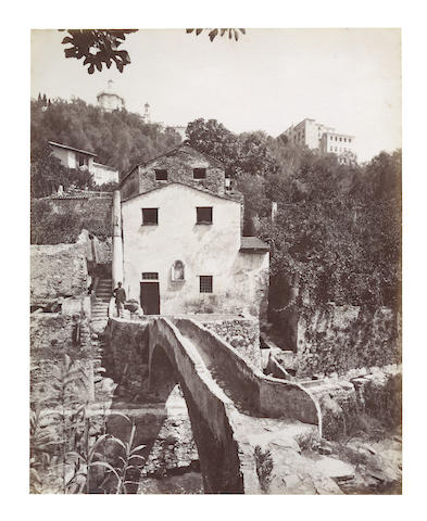 ITALY An album of 50 views, predominantly in northern Italy, including several of southern France, [c.1880]