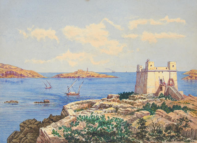 English School, 19th Century View of St Pauls Bay, Malta