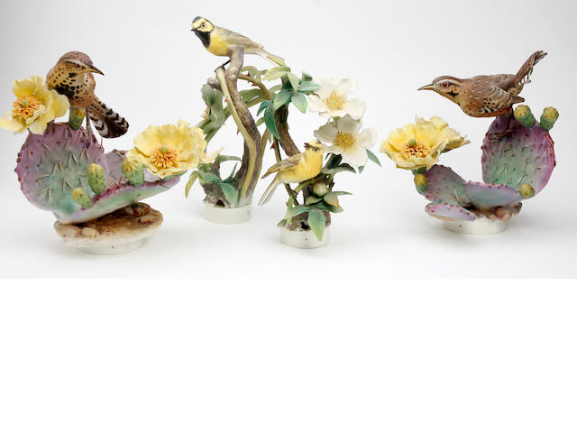 A small collection of Royal Worcester Dorothy Doughty bird studies Circa 1961