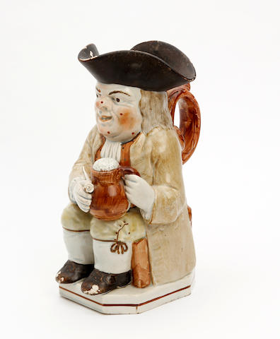 An Ordinary-type Toby jug Circa 1815