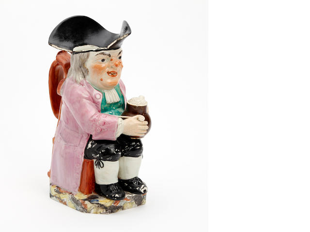 A Staffordshire Ordinary-type Toby jug Circa 1830
