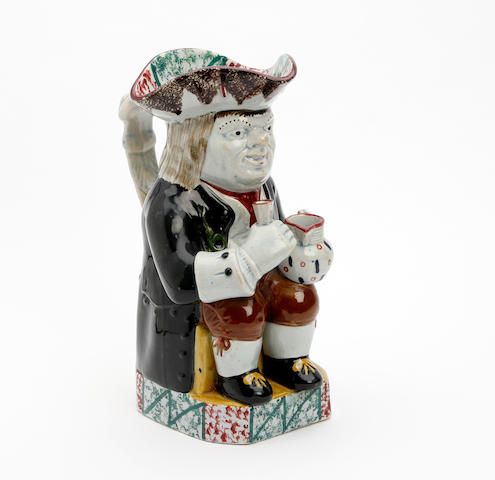 An Ordinary-type Toby jug Circa 1830