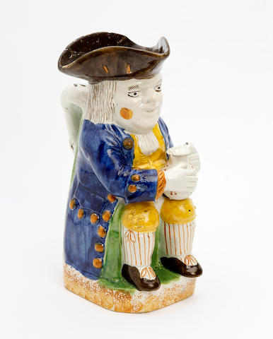A Staffordshire Ordinary-type Toby jug Circa 1825