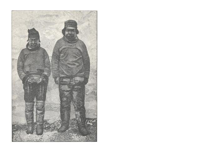 AMUNDSEDN (ROALD)  NANSEN (FRIDTJOF) Paa Ski over Grønland, SIGNED BY ROALD AMUNDSEN, Kristiania, H. Aschehoug, 1890
