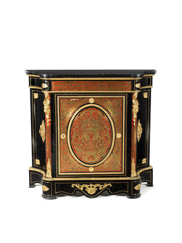 Boulle style cabinet