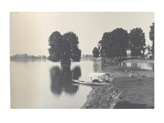 KASHMIR A good album of 81 images by Diwan Alim Chand, G.C., [c.1900]
