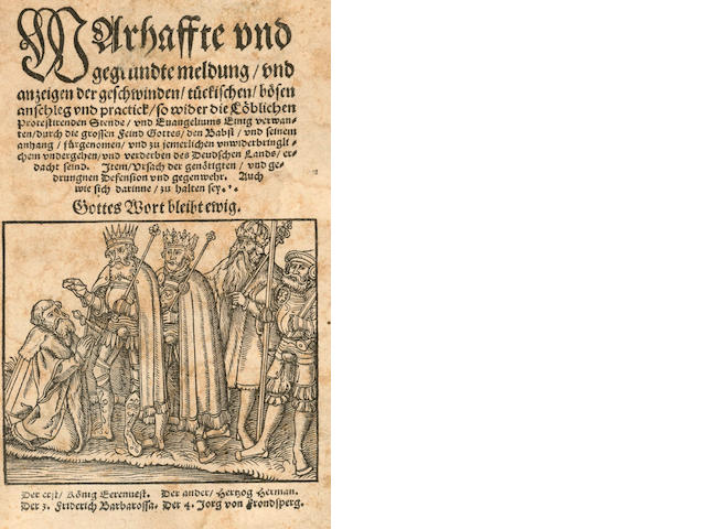 MINING SCHREITER (JOHANNES) Nova Decas Metallica 1616; and 2 others (3)