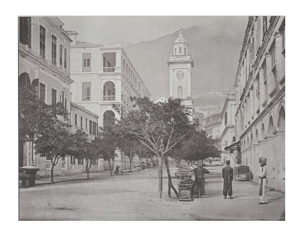 "CHINA - HONG KONG THOMPSON (JOHN) ""The Clock-Tower, Hong Kong"", from """"Illustrations of China and its People"", 1873"