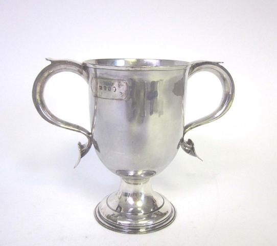 A George III silver two-handled cup by Godbehere & Wigan, London 1791