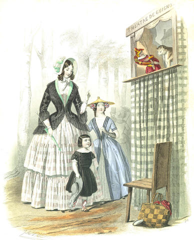 COSTUME Le moniteur de la mode, [Paris and London, c.1845]