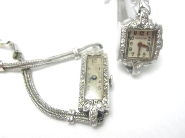 Two early 20th century lady's cocktail watches