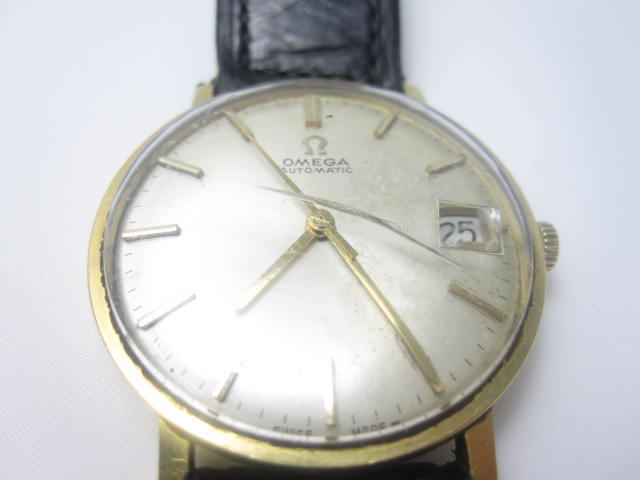 Two gentleman's wristwatches, by Omega