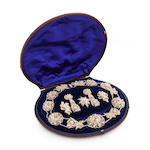 A suite of Victorian seed pearl jewellery