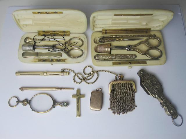 A collection of items