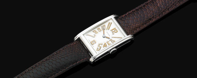 A gentleman's Art Deco wristwatch by Rolex,