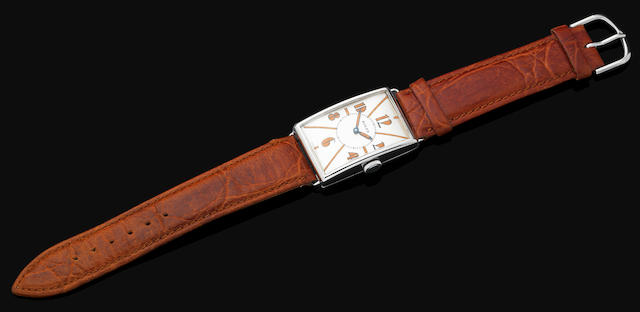 A gentleman's Art Deco wristwatch by Rolex
