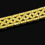 A coloured diamond bracelet