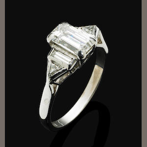 A diamond ring