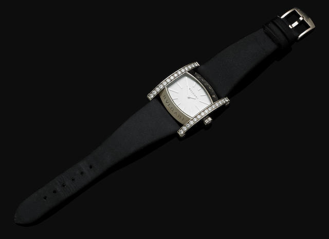 A lady's gold and diamond 'Assioma' wristwatch by Bulgari