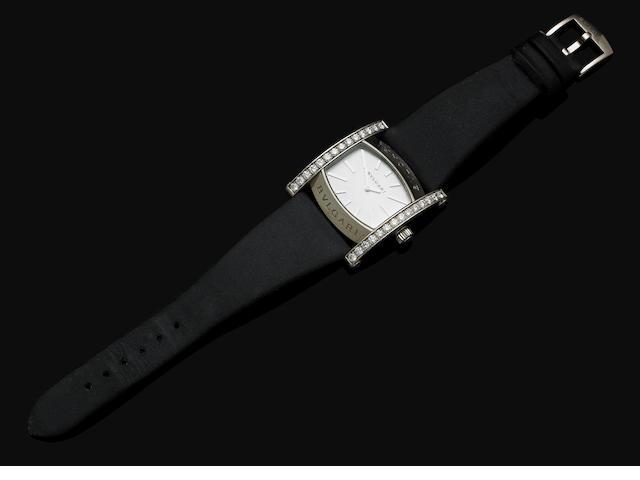 A lady's gold and diamond 'Assioma' wristwatch by Bulgari
